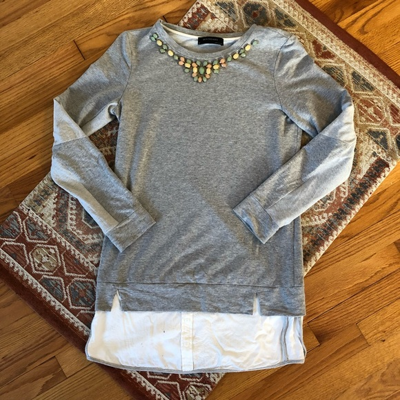 Anthropologie Dresses & Skirts - Anthropologie Sweatshirt Dress